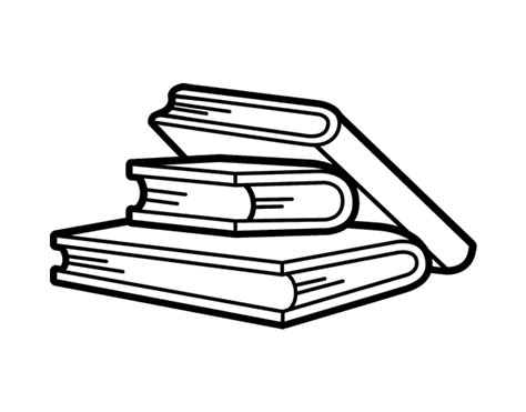 pictures of books to color reading books coloring page coloringcrew
