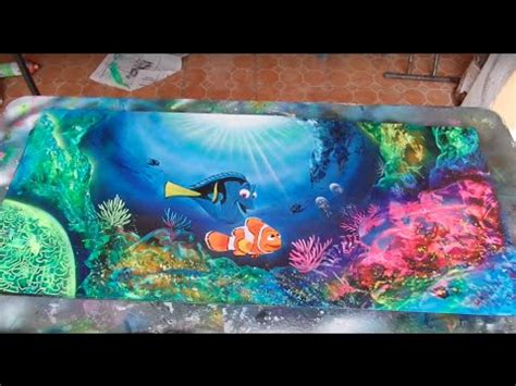 spray paint reef spray paint coral reefs funnydog tv