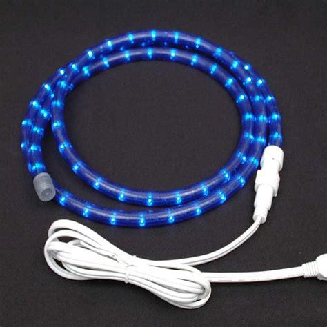 rope lights custom blue rope light kit 120v 1 2 quot novelty lights