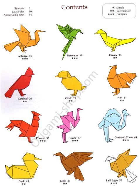 origami of birds simple origami crane easy comot