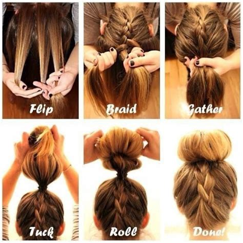 braid styles with braided bun hairstyles official