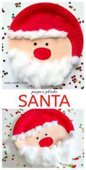paper plate santa craft 1000 ideas about paper plate crafts on paper