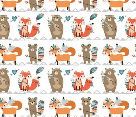 woodland creatures crib bedding crib sheet tribal woodland creatures fitted crib sheet baby