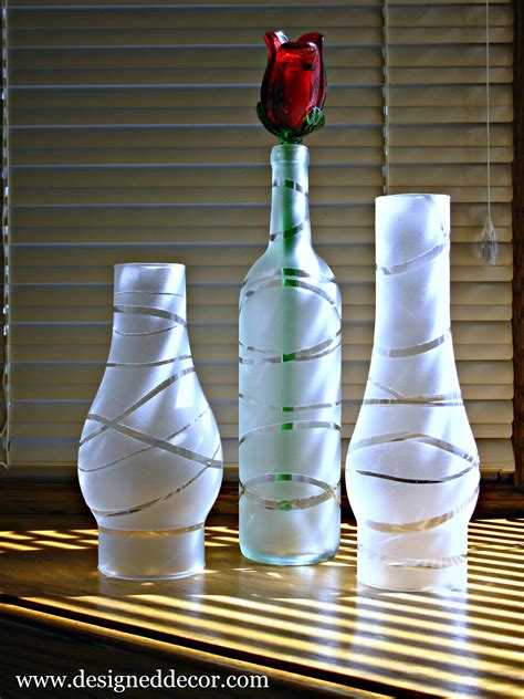 spray painting glass jars diy painted jars and bottles designed decor