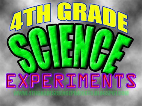 4th grade ideas 4th grade science projects