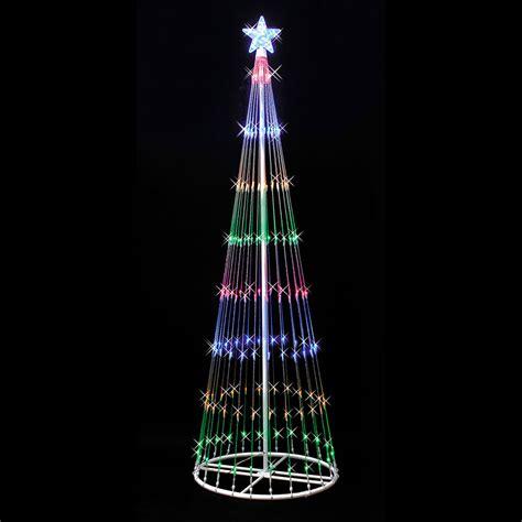 light show trees vickerman 12 light show artificial tree
