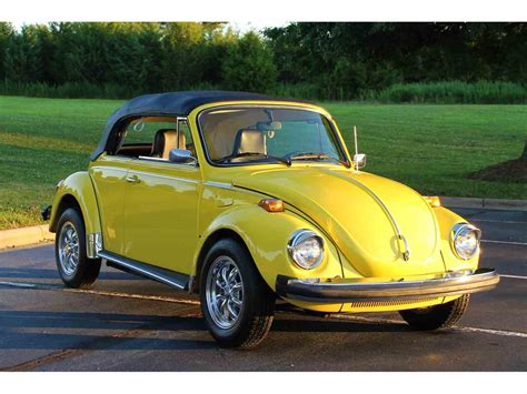 Volkswagen For Sale by 1975 Volkswagen Beetle For Sale Classiccars Cc 1033813
