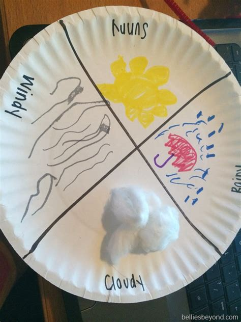 weather crafts for summer crafts for week 7 weather bellies babies