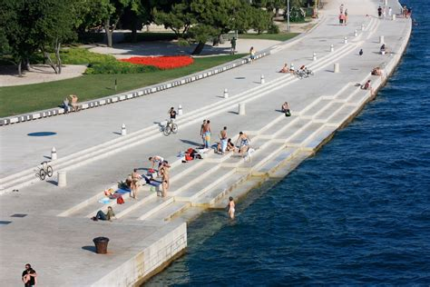 sea organ croatia sea organ in zadar croatia places i d like to go