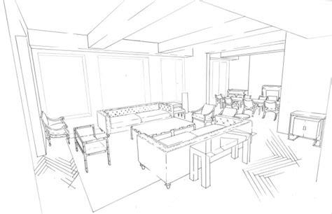 room drawing app living room line drawing