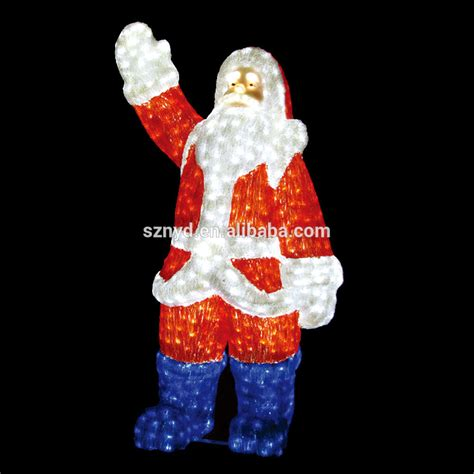 santa claus decoration lighted santa claus outdoor decorations buy