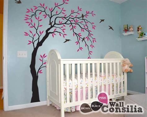 tree decal for nursery wall baby room wall decals buy wall decals for