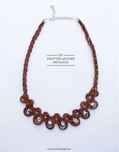 how to make jewelry with leather cord knotted leather cord necklace tutorial the beading gem s