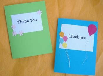 thank you card ideas diy custom thank you card ideas