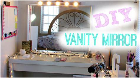 Bedroom Makeup Vanity Ideas diy hollywood vanity light mirror diy room decor easy