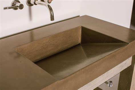 gradient sink concrete wave design concrete