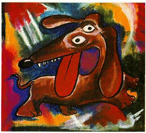 picasso paintings of dogs weiner wiener dogs