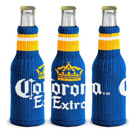 Corona Knitted Bottle Cooler