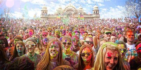 festivals usa holi festival of colors usa celebration
