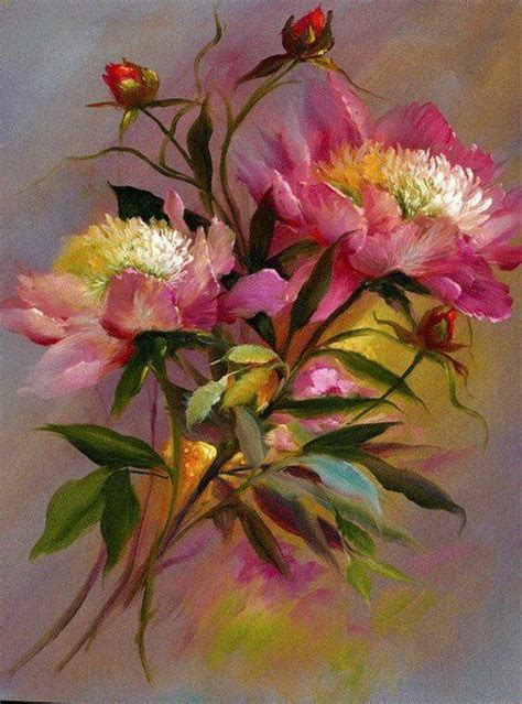 flower painting pictures 204 best images about floral garden paintings on