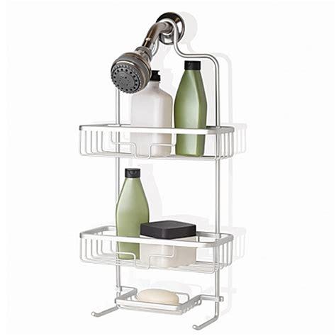 bath shower caddy org neverrust 174 aluminum shower caddy in satin chrome