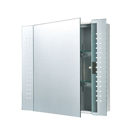 bathroom wall cabinets with mirrors 60894 revelo bathroom wall mirror cabinet shaver