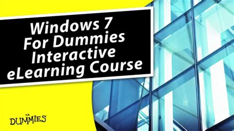 continental knitting for dummies windows 7 for dummies elearning course