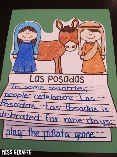 las posadas crafts for miss giraffe s class december writing crafts