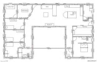 plan maison plain pied 3 chambres gratuit