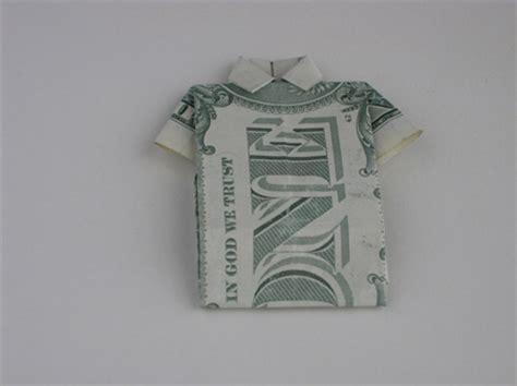 t shirt money origami origami folding how to make a money origami