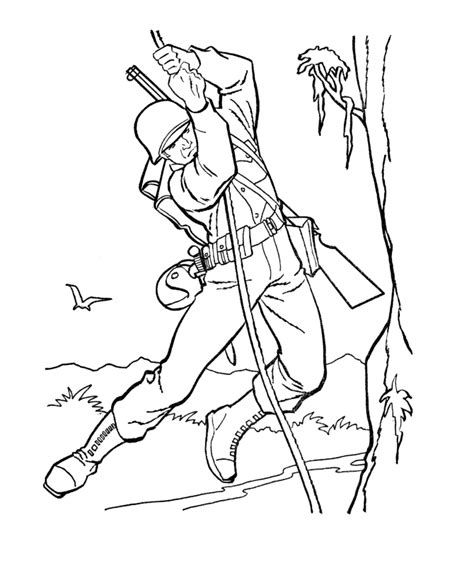 world page 2 armed forces day coloring pages us army soldier world war