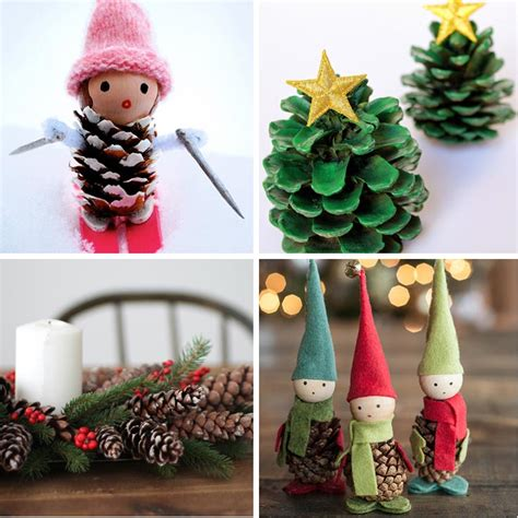 craft ornaments for 40 creative pinecone crafts for your decorations