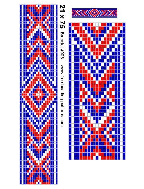 Cool Beading Loom Patterns Seed Bead Loom Bracelet 003