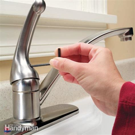 repair kitchen faucet how to repair a single handle kitchen faucet the family