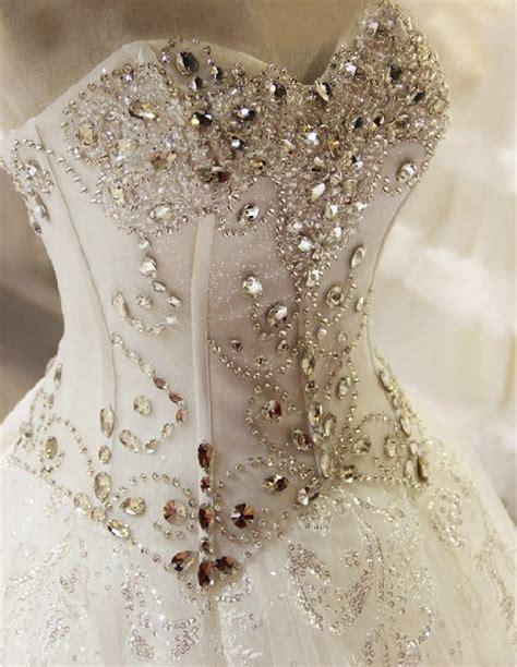 fully beaded bodice wedding dress fully beaded vintage wedding dressses with corset