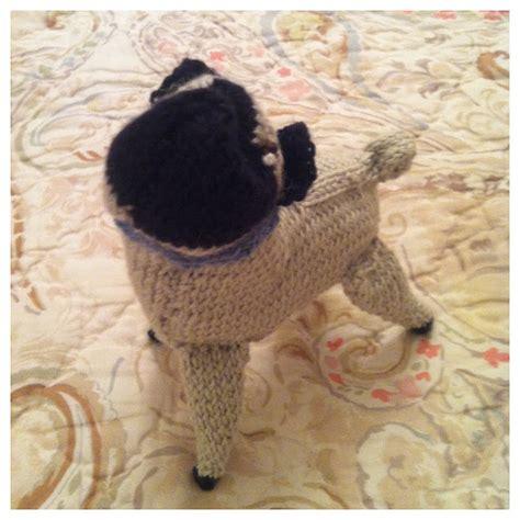 knitted pug knits etc knits knit pug update 3