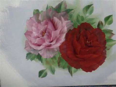 bob ross painting roses no4 perfection painting