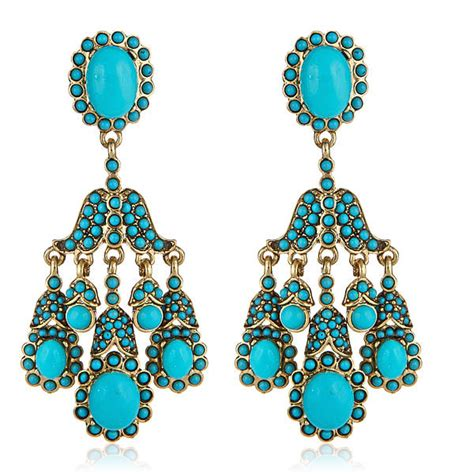 how to make turquoise jewelry socialite turquoise earrings by kenneth