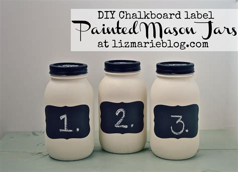 chalkboard paint labels diy diy chalkboard label jars liz