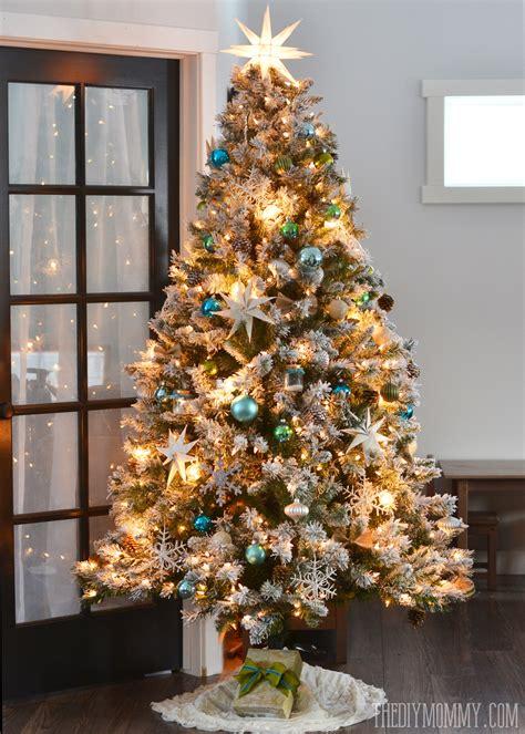 tree flocking kit tree flocking kit lights decoration
