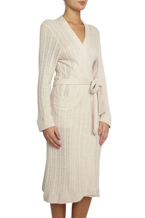 knit robe eberjey elsa knit robe from canada by esprit de la femme