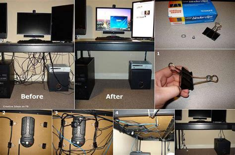 hide computer wires desk how to hide desk cords and cables diy cozy home