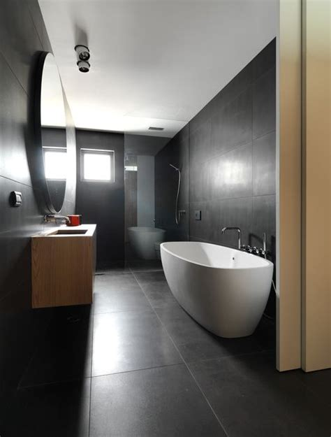 Bathroom Tile Flooring Ideas For Small Bathrooms create open seamless spaces with large format tiles see