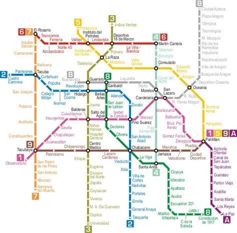 Sinking Mexico City by Metro Y Trenes Ciudad De M 233 Xico Gu 237 A Cdmx Df Lo