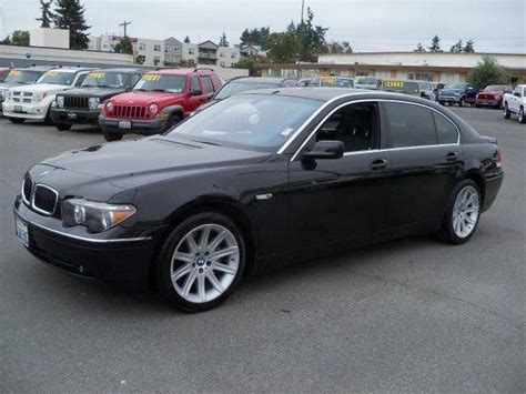 2003 Bmw 7 Series by Bmw 7 Series 2003 Seattle Mitula Cars