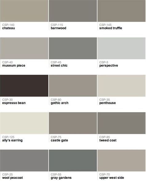 182 Best Images About Grey And Greige Paint Tones On