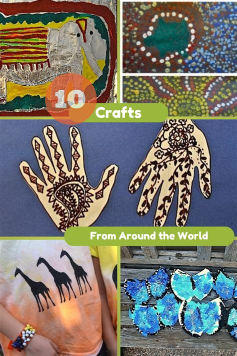 around the world crafts for 10 crafts from around the world in the playroom