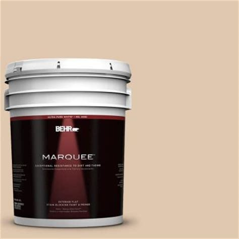 behr paint color almond latte behr marquee 5 gal n260 2 almond latte flat exterior
