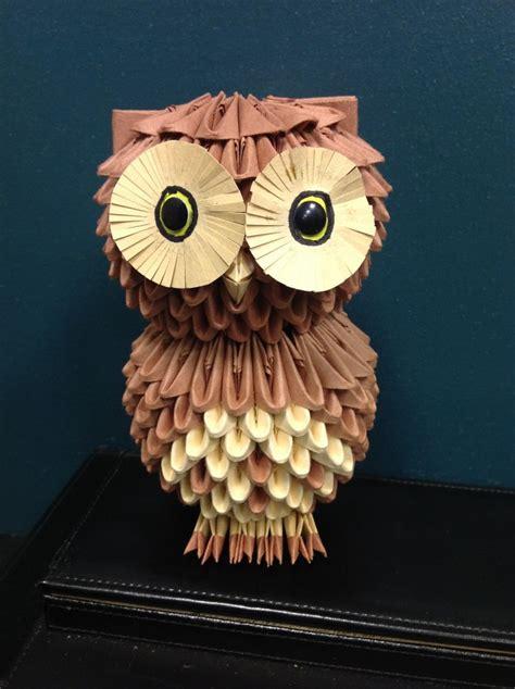 Owl 3do Jpg Album Esojoey 3d Origami