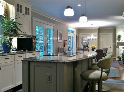 kitchen with center island designing with white kitchen cabinets fairfax va home furnishings